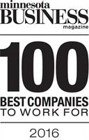 Minnesota Business Magazine 100 Best Companies 2016 White